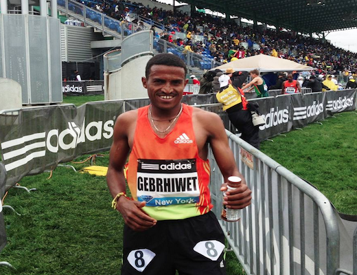 Gebrhiwet Blows Away Field, Grabs World Lead