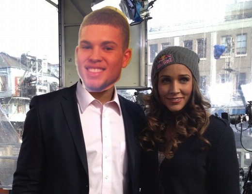 Bubby Lyles and Lolo Jones (mock up)