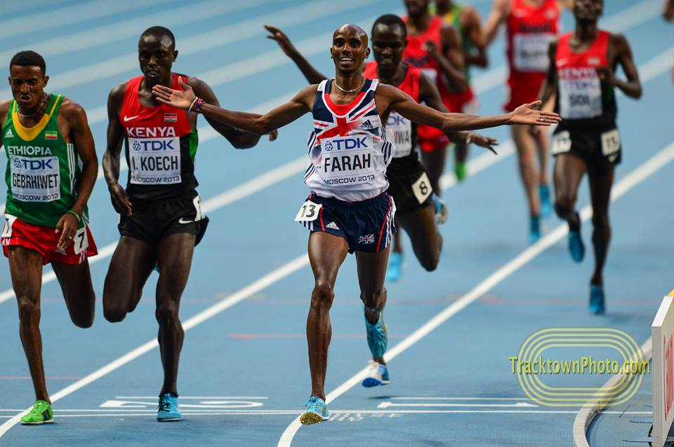 The Monday Morning Run: Farah and Dibaba set records, Barshim and Collins win again