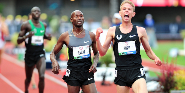 The 4 x 1: Rupp goes for two, full Boston field, sprinters running indoors and Sochi