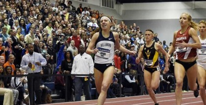 Emily Lipari at NCAA's (photo: Track and Field photo)