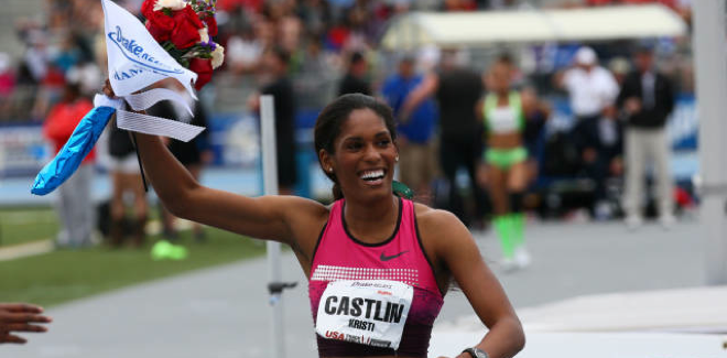 Kristi Castlin upsets Brianna Rollins: 5 World Bests set during Saturday of Drake Relays