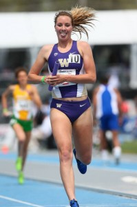 Hometown girl/Washington Husky, Katie Flood