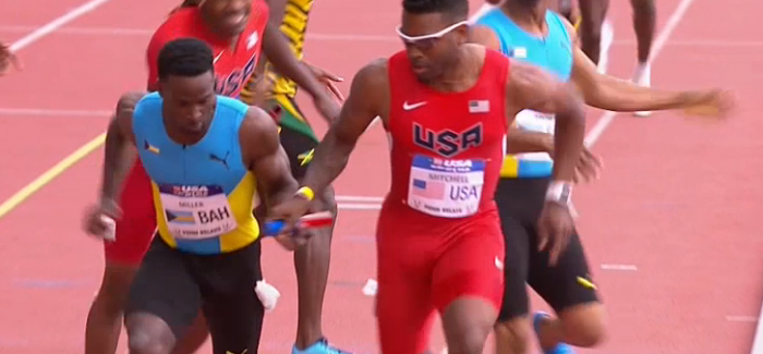 Penn Relays 4x400m Exchange Fail