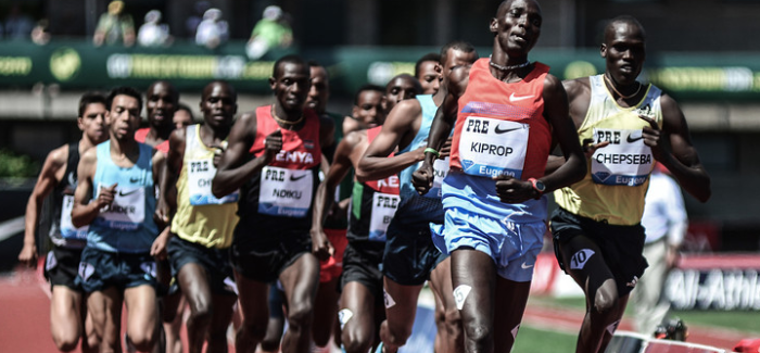 The Monday Morning Run:  Kiprop rolls, Obiri destorys Dibaba, American sprint struggles