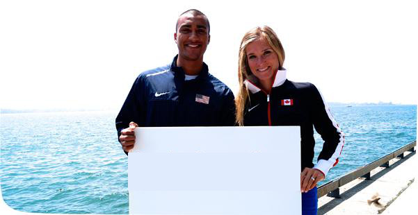 Mixed Zone: Ashton Eaton and Brianne Theisen-Eaton Photoshop