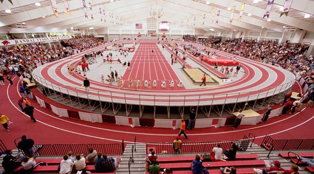 university arkansas indoor track meet
