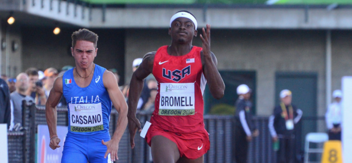 Bromell/Prandini win, top vaulters square off and when a world record is not a world record: Monday Morning Run