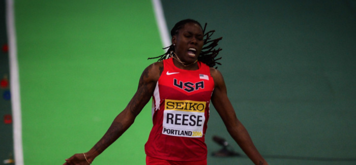 Reese leaps into top 10, Huddle keeps cool, Conley's shoe, Berian's splits