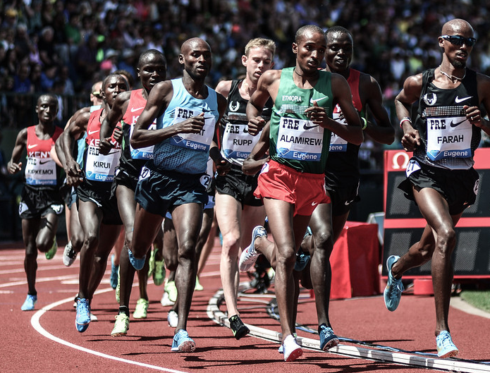 What does Mo Farah have in common with Larry Page?