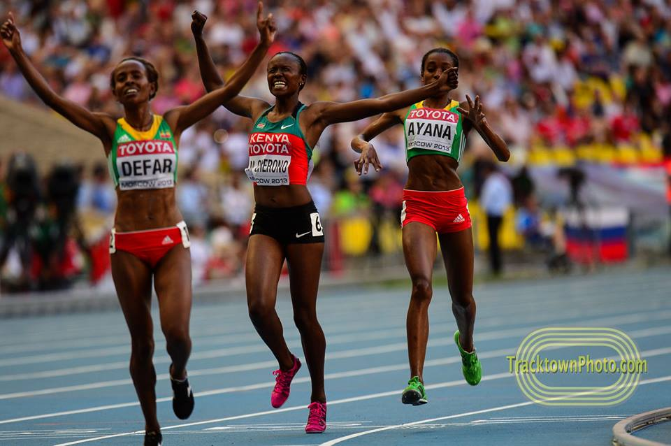 Gender Gaps in World Championships