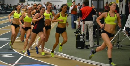 Deb Maier leads the JDL Field (photo: Phil Bond)