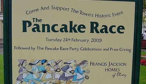 Daily News Roundup: Pancake Races