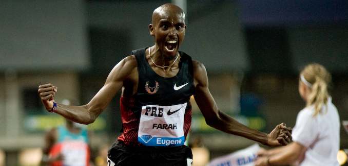 The Monday Morning Run: Farah fights the tape and the tape wins, Rudisha goes 1:44