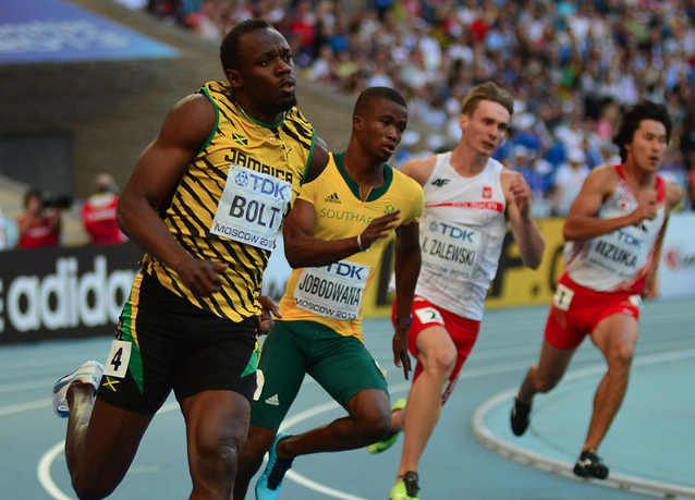 Bolt unravels Gatlin in 100m final: Breakfast in ...