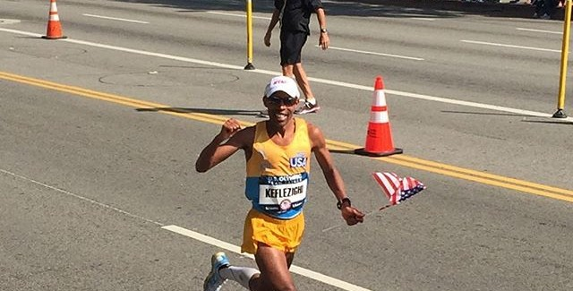Let's be social: The U.S. Marathon Trials on Twitter